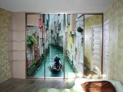 Шкаф-Купе Фотопечать Венеция