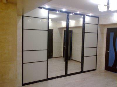 Шкаф-Купе Зеркало+Oracal